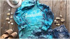 Beachaholic Tie Dye Hoodie in small