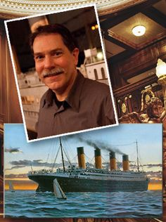 I cannot wait to meet #Titanic Artist and #Author Ken Marschall at Titanic in #Pigeon Forge, Tennessee September 7 and 8th, 2013
