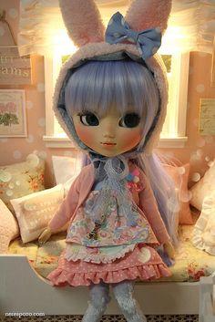 Sea Usagi Custom Pullip doll by Keera, via Flickr