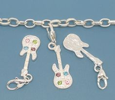 what a great idea-lobster clasp on charm