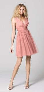Wtoo Style 333 Bridesmaid Dress in Coral love the way it falls