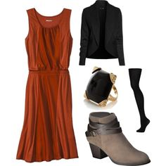 Another nice casual dressy feel for Thanksgiving dinner!