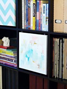 Art in the Office: Canvas Expedit Doors — Dans Le Townhouse