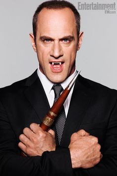 Detective Stabler now a vampire! YES!! This is EXACTLY what I said when I saw the show!