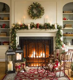 Latest Absolutely Free vintage Fireplace Mantels Style 33 Popular Christmas Fireplace Mantel Decorations That You Like – MAGZHOUSE, Christmas Living Rooms, Christmas Home, Apartment Christmas, Christmas Lights, Christmas Ornaments, Christmas Cards, Cosy Christmas, Cheap Christmas, Silver Christmas