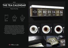 Ads of the World Winner May 2013. Direct Marketing: Bronze. Agency:  Kolle Rebbe, Hamgurg, Germany.  Hälssen &; Lyon: Tea Calendar