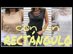 9e8e299471 Cómo hacer REMERAS CON UN RECTÁGULO - Fabiana Marquesini - 15 - YouTube  Moldes De Remeras