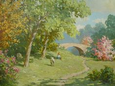 Unsigned Beautiful Landscape, DAC Collection - Donald Art Company Collection