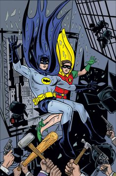 DC's July 2014 solicitations include the debut of 'Grayson' and 'Robin Rises: Omega,' plus new 'Futures End,' 'Batman Eternal' and much more. Batman Et Superman, Batman 1966, Batman Art, Batman Robin, James Gordon, Mike Allred, Marvel Comics Superheroes, Batman Family, Comic Page