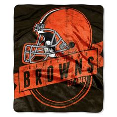 Use this Exclusive coupon code: PINFIVE to receive an additional 5% off the Cleveland Browns NFL Grand Stand Raschel Throw at SportsFansPlus.com
