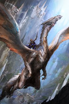 "Book 6 cover i did for Michael Ploof's ""Whill of Agora"" book series. Fun stuff painting dragons"