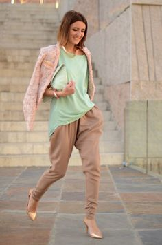 Love the sorbet colours and shape of those pants