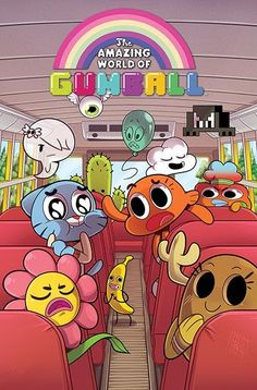 Cartoon desenho incrível mundo de Gumball