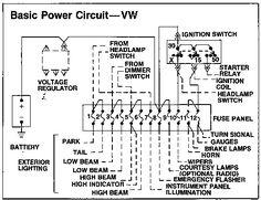 Resultado de imagen para diagrama de alternador de vocho