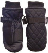 N'Ice Caps Unisex Quilted Thinsulate and Waterproof Ski Mitten