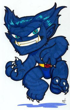 Chibi-Beast. by hedbonstudios.deviantart.com on @deviantART