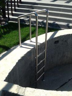 Scara Inox pentru piscina | 0720.484.274.  Mai multe modele pe InoxConstanta.ro Ladder, Stairway, Ladders