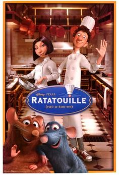 Ratatouille 2007 an American computer-animated comedy film produced by Pixar Animation Studios and released by Walt Disney Pictures A movie with all the right ingredients action food love mice and the atmosphere of Paris Film Movie, Film Pixar, Disney Pixar Movies, Film D'animation, Kid Movies, Family Movies, Cartoon Movies, Great Movies, Comedy Movies