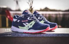 Reebok Ventilator: Navy/Sea/Glass/Pink