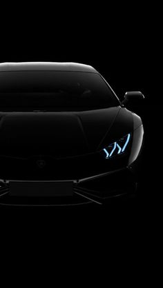 Black Wallpaper Iphone Lamborghini Huracan Lp Black Dark Iphone 5s