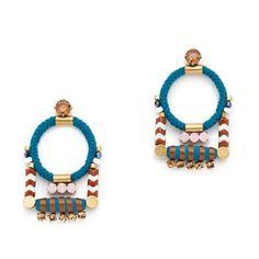 Rope cord earrings : earrings   J.Crew