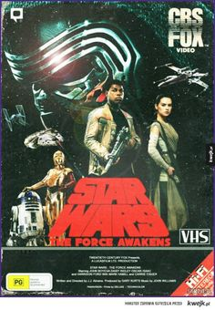 Star Wars: The Force Awakens VHS