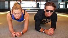 Beating Casey Neistat in a Handstand Challenge | Karlie Kloss