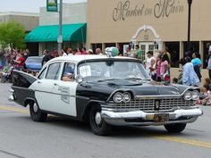 1959 Plymouth Belvedere police car