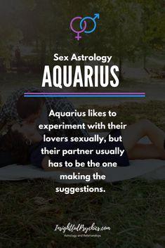 Aquarius and sex