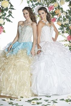 Da Vinci Quinceanera Dresses Style 80268 Colors: Ivory/Blush, Champagne/Aqua http://www.abcfashion.net/da-vinci-quinceanera-dresses-80268.html  Call us at 972-264-9100
