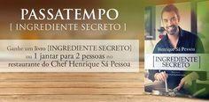 Amostras e Passatempos: Montiqueijo - Passatempo Ingrediente Secreto