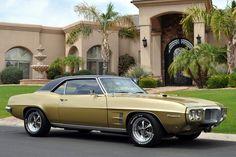 Antique Gold… 1969 Firebird 400 coupe