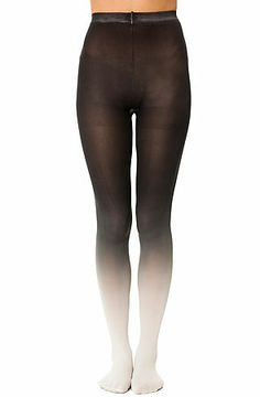 The Coal Ombre Tights