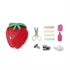 Stationery set strawberry sold at Tiger stores, UK.