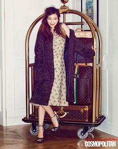Yi Som // Cosmopolitan Korea // August 2013