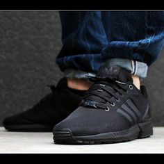 ISO  Adidas Zx Flux in black Looking for these in a women's size 7 or 7.5 in all black  Shoes