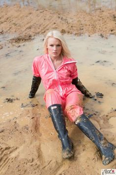 girl in orange waders - Google Search