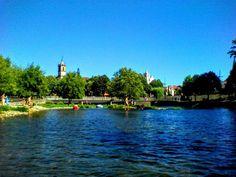 Boa tarde. AGosto!!!!!!!! :D O rio Vez em Arcos de #Valdevez está À sua espera - http://ift.tt/1MZR1pw -
