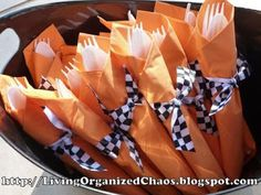 Organized Chaos...: Race Car Birthday Party!