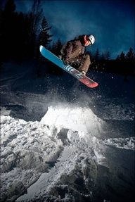 one of my favorite hobbies is snowboarding and I hope to do a lot of that in 5 years when I can drive myself to the slopes.