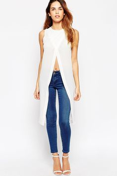 Discover new clothes and latest trends in women's clothing at ASOS. Shop the newest women's clothes, dresses, tops, skirts and more. Order now at ASOS. Latest Fashion Clothes, Love Fashion, Fashion Outfits, Fashion Trends, Summer Outfits, Casual Outfits, Cute Outfits, Long Kurti With Jeans, Dress Over Pants