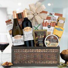 Wine Gift Baskets - Executive Appreciation Wine Gift Basket