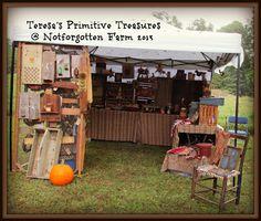 Teresa's Primitive Treasures: Notforgotten Farm Antiques and Folk Art show 2013