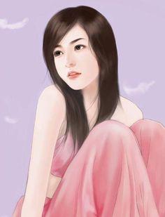 chinese art - 绘现代美女 #166