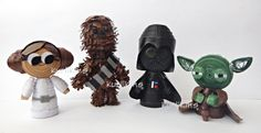 Star Wars characters made from paper using 3D Quilling techniques. Awesome.