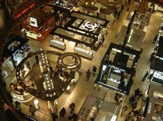 first floor view (perfumes' store)
