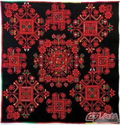 One example of Miao minority embroidery.