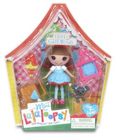 Amazon.com: Mini Lalaloopsy Doll - Dotty Gale Winds: Toys & Games