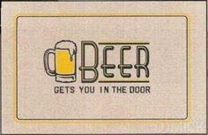 Cool door mat