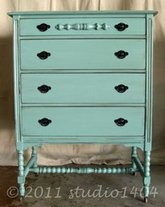 Studio 1404. Blog of refinished furniture for sale.